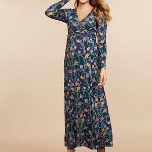 Jessica Simpson Floral Maxi Maternity Dress